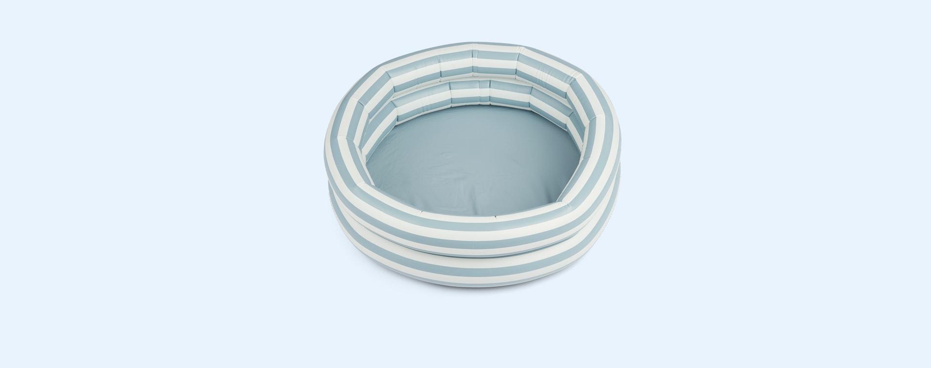 Stripe Sea Blue/Creme De La Creme Liewood Leonore Pool