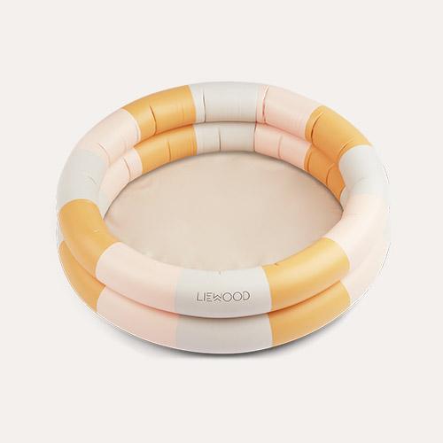 Stripe Peach/Sandy/Yellow Mellow