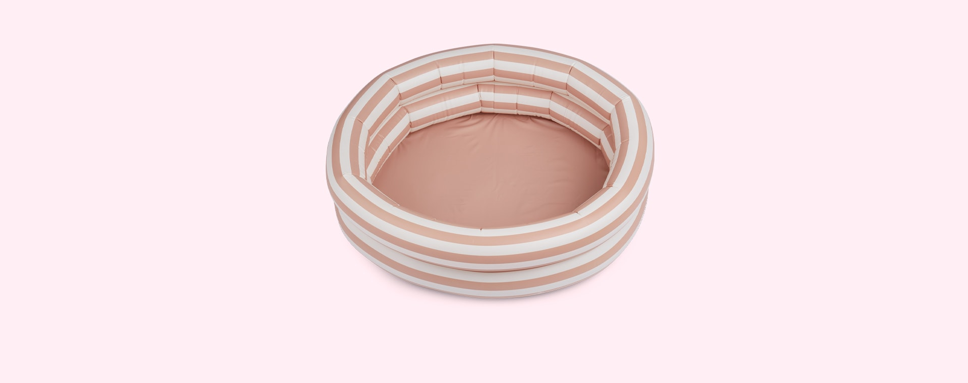 Stripe Rose/Creme De La Creme Liewood Leonore Pool