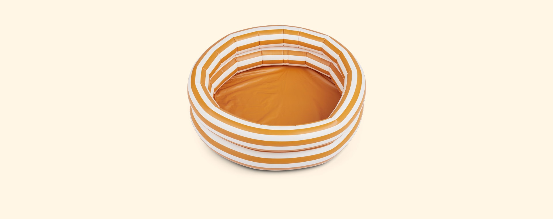 Stripe Mustard/Creme De La Creme Liewood Leonore Pool