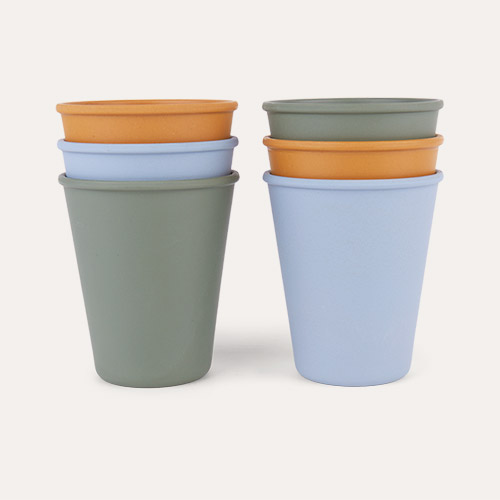 Blue Multi Mix Liewood Gertrud Bamboo Cups