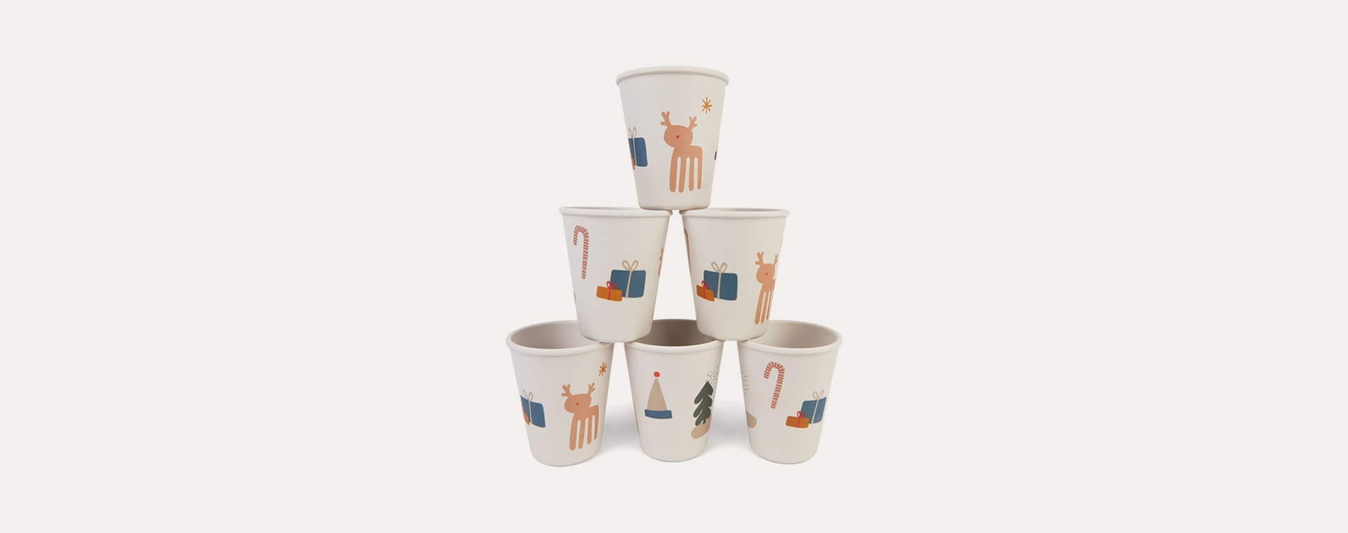 Holiday Mix Liewood Gertrud Bamboo Cups
