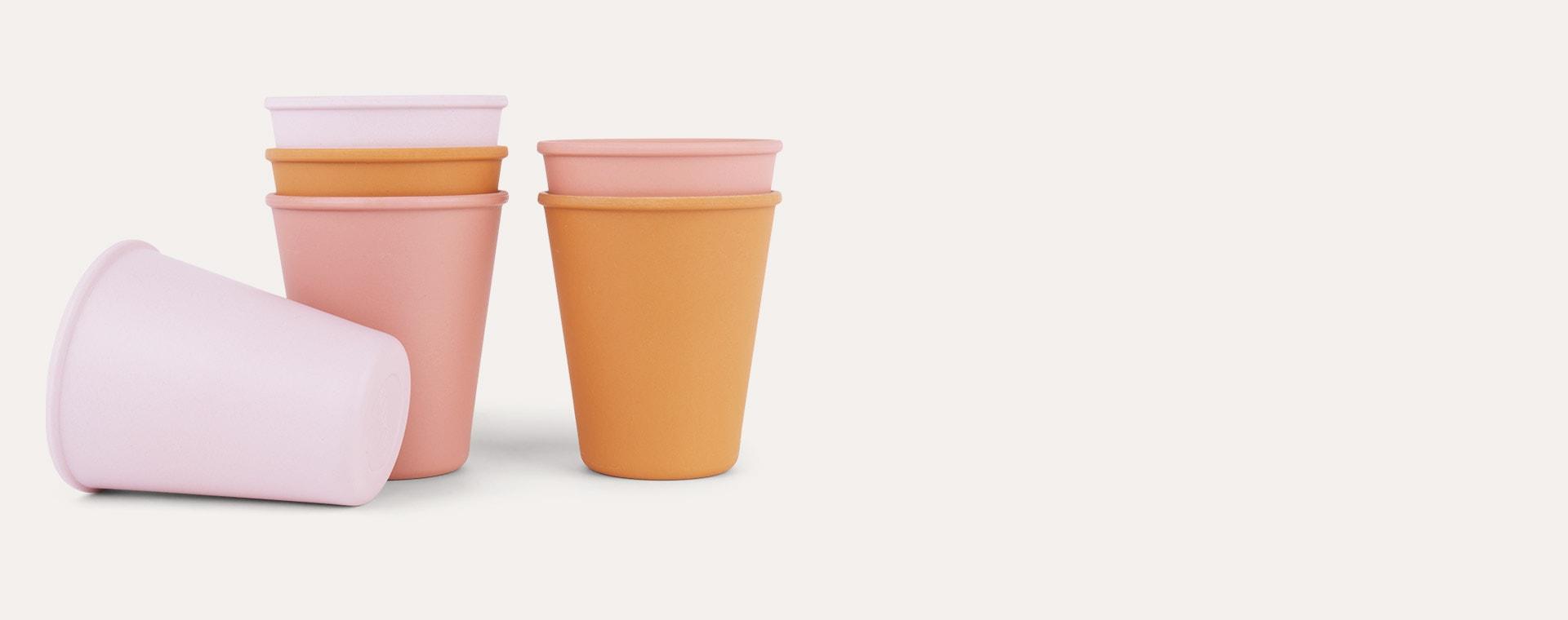 Rose Multi Mix Liewood Gertrud Bamboo Cups