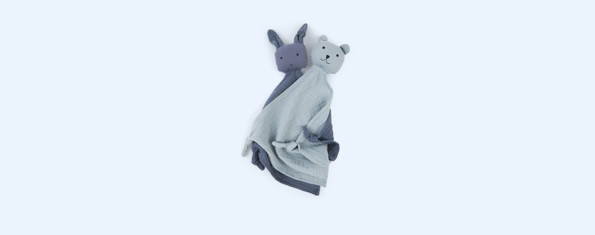 Blue Mix Liewood Yoko Cuddle Teddy 2 pack
