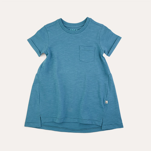 Aqua KIDLY Label Perfect Tee Dress