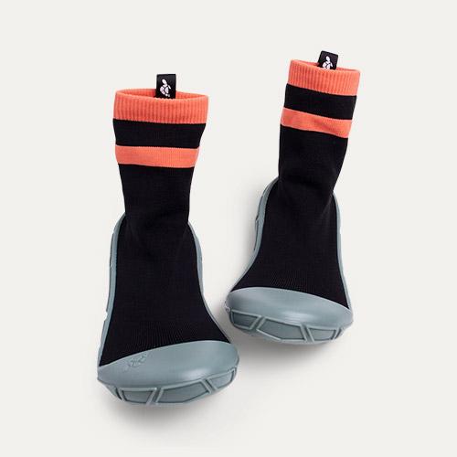 Black turtl Kids Slipper Socks