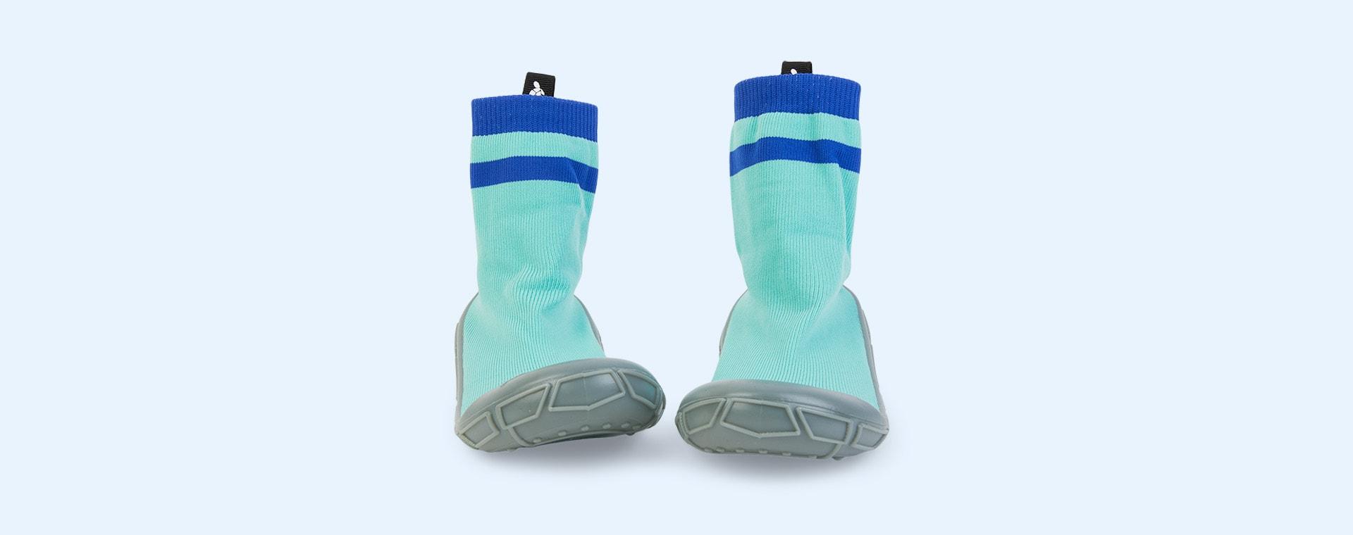 Aqua turtl Kids Slipper Socks