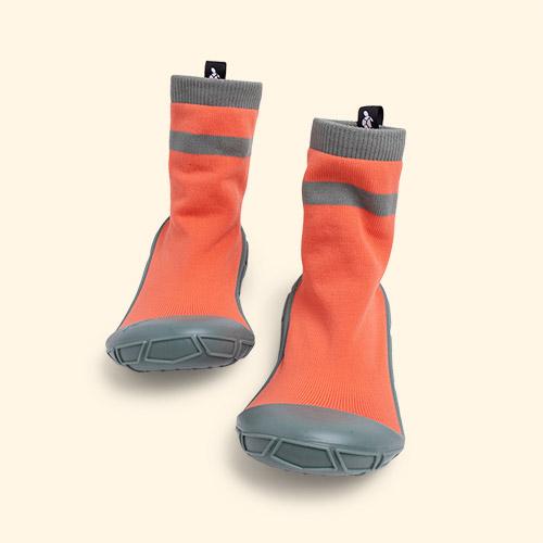 Orange turtl Kids Slipper Socks