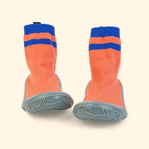 Coral turtl Kids Slipper Socks