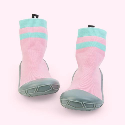 New Pink turtl Kids Slipper Socks
