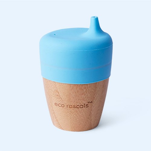 Blue eco rascals Small Cup & Sippy Topper