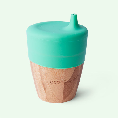 Green eco rascals Small Cup & Sippy Topper