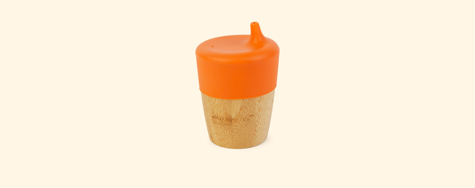 Orange eco rascals Small Cup & Sippy Topper