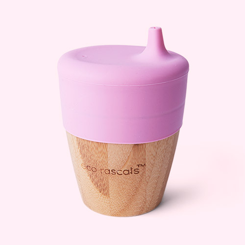 Pink eco rascals Small Cup & Sippy Topper