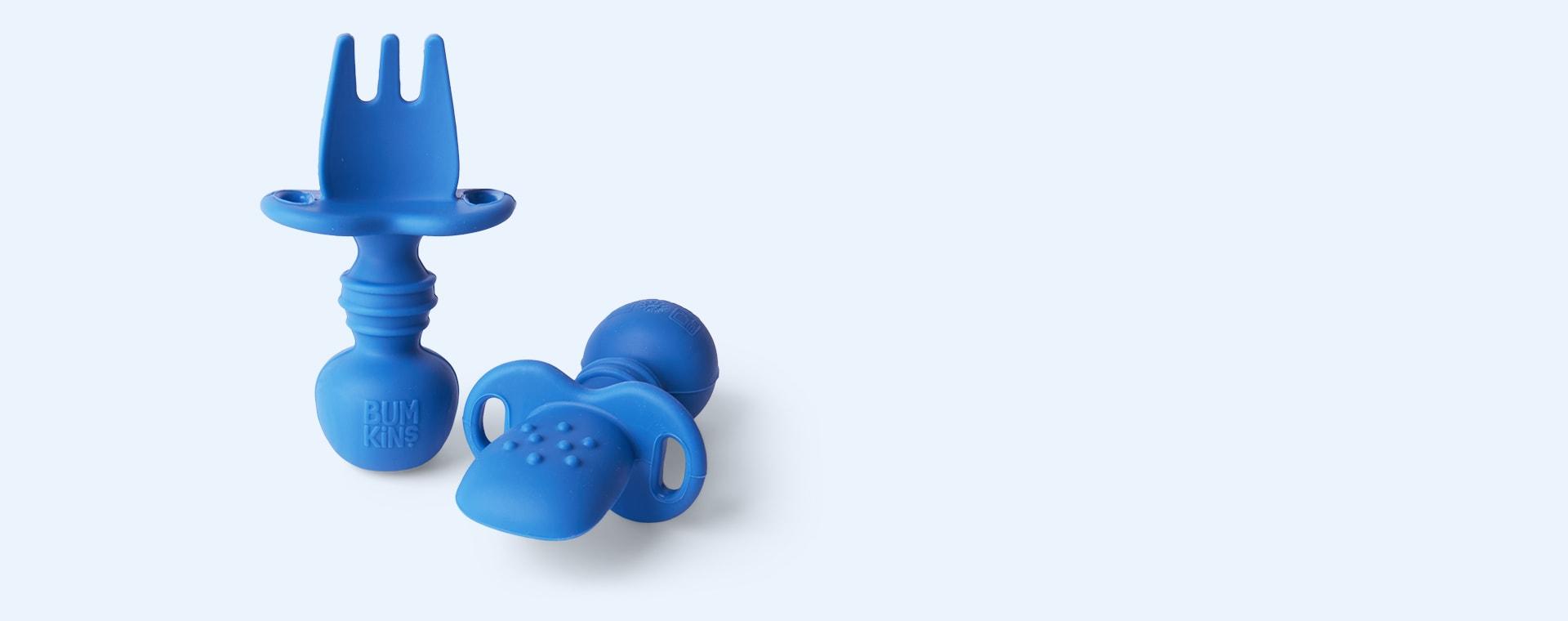 Deep Blue Bumkins Chewtensils