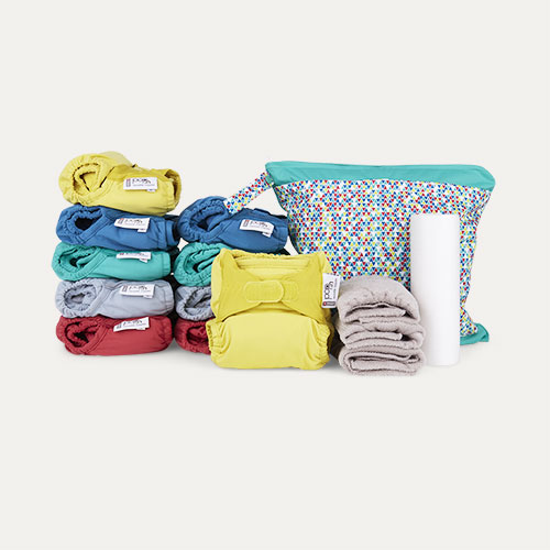 Brights Close Pop-In Reusable Nappy Box
