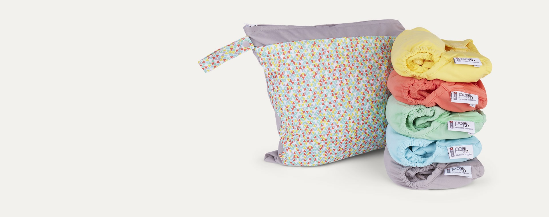 Pastel Close Pop-In Reusable Nappy Box