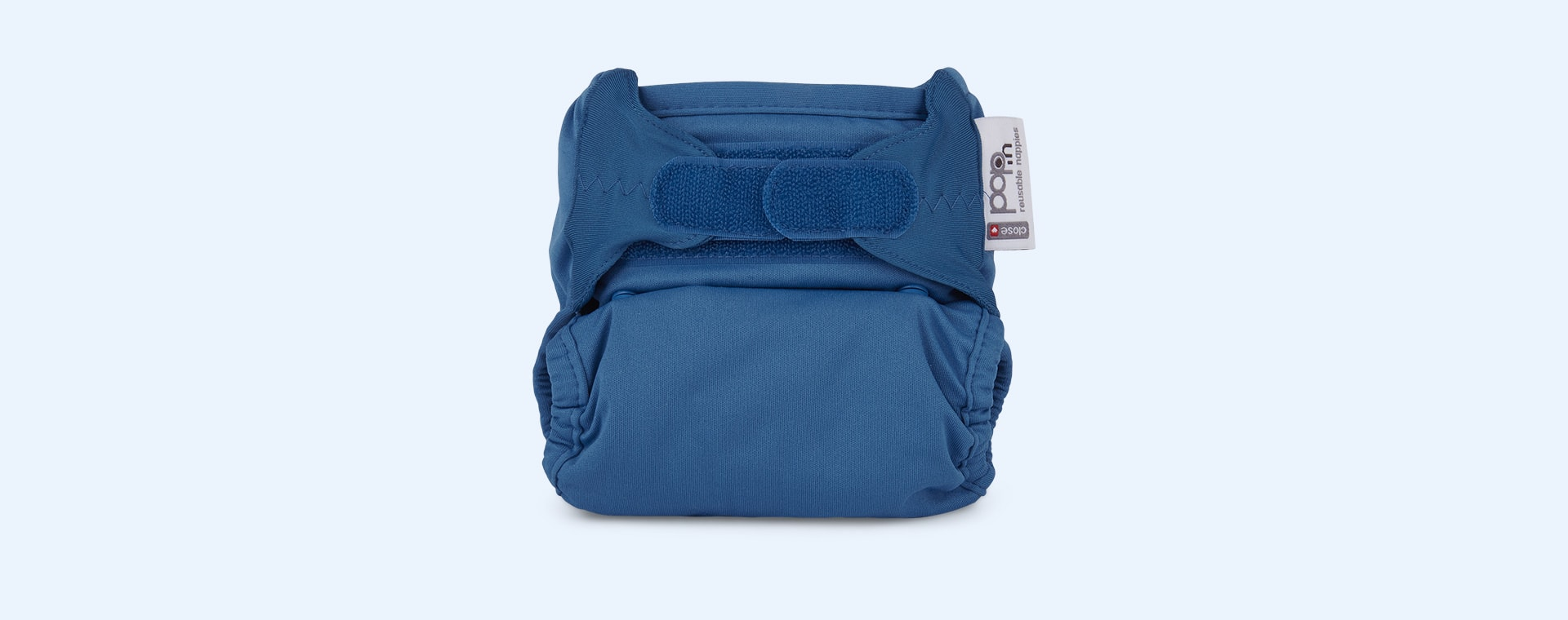 Peacock Close Pop-in Single Bamboo Nappy