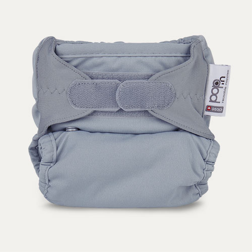 Slate Close Pop-in Single Bamboo Nappy