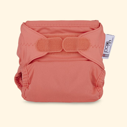 Coral Close Pop-in Single Bamboo Nappy