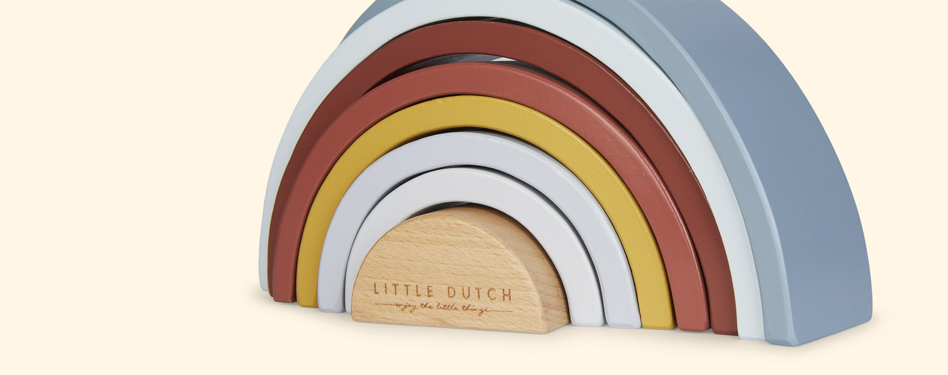Multi Little Dutch Rainbow Stacker