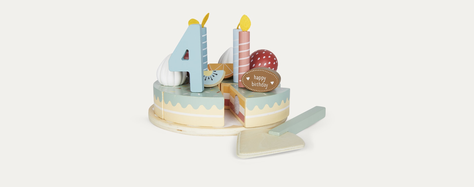 Multi Little Dutch Birthday Cake