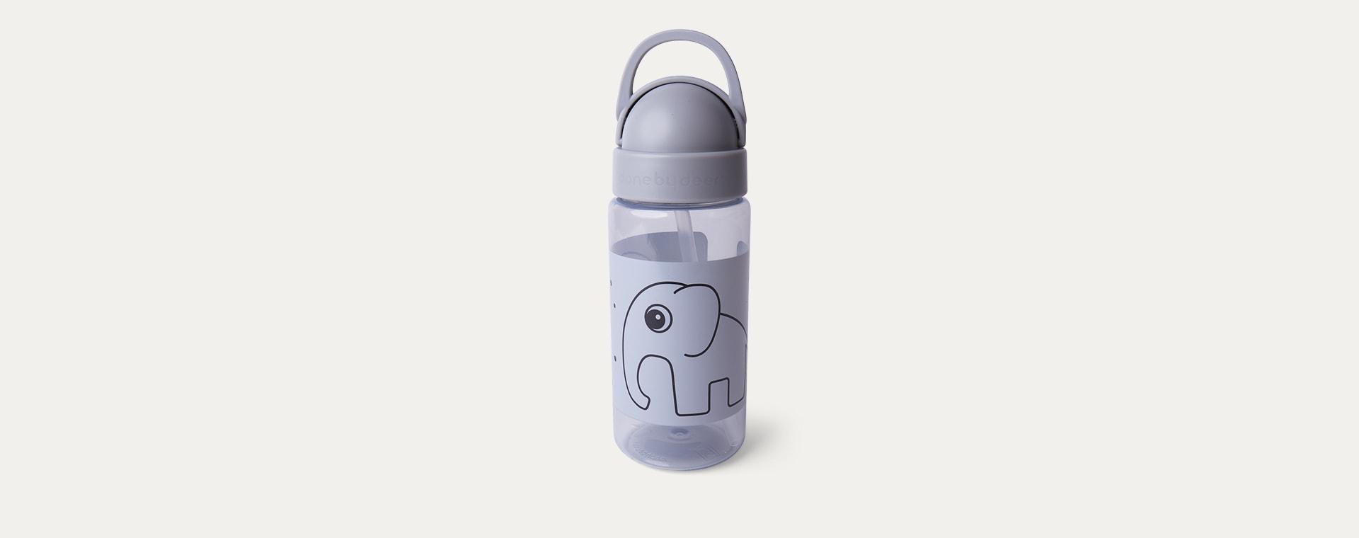 Grey Done By Deer Straw Bottle Elphee