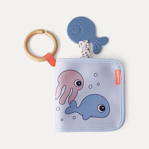 Blue Done By Deer Bath Time Book Sea Friends