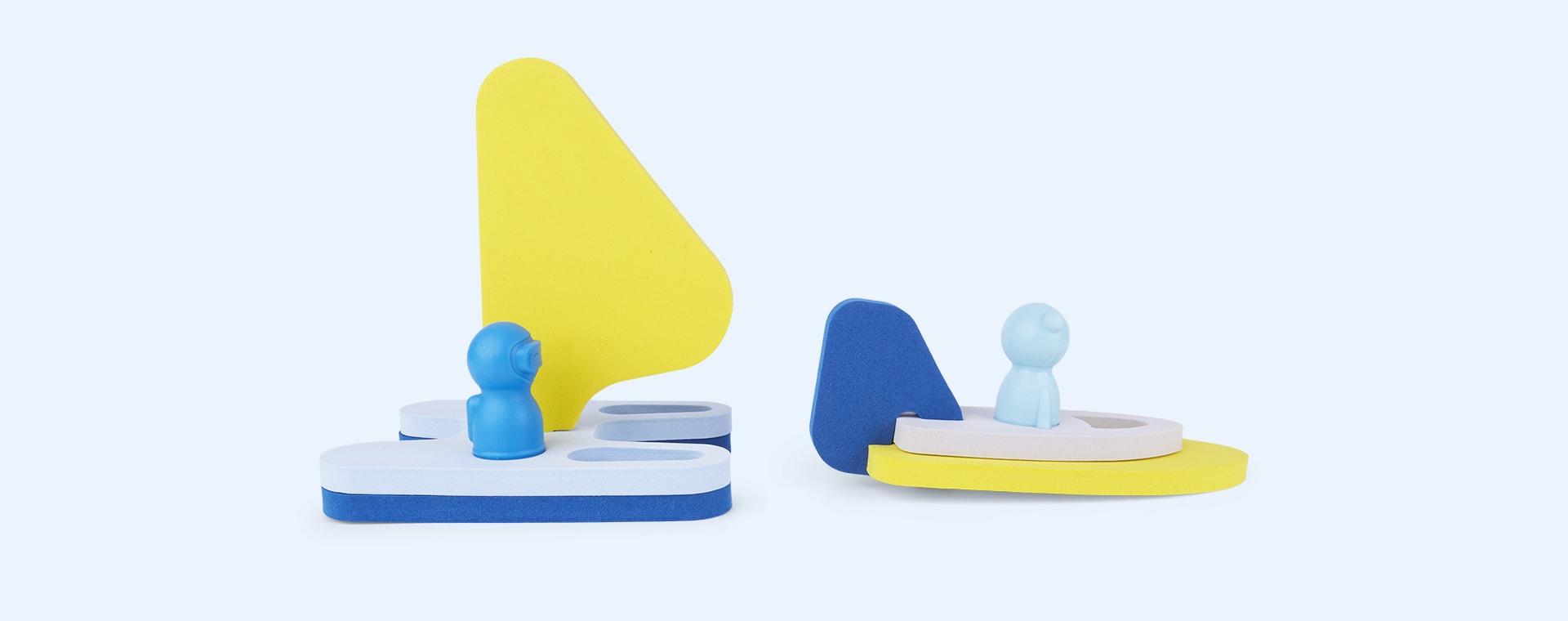 Sail Away Bath Toy Quut Bath Puzzle