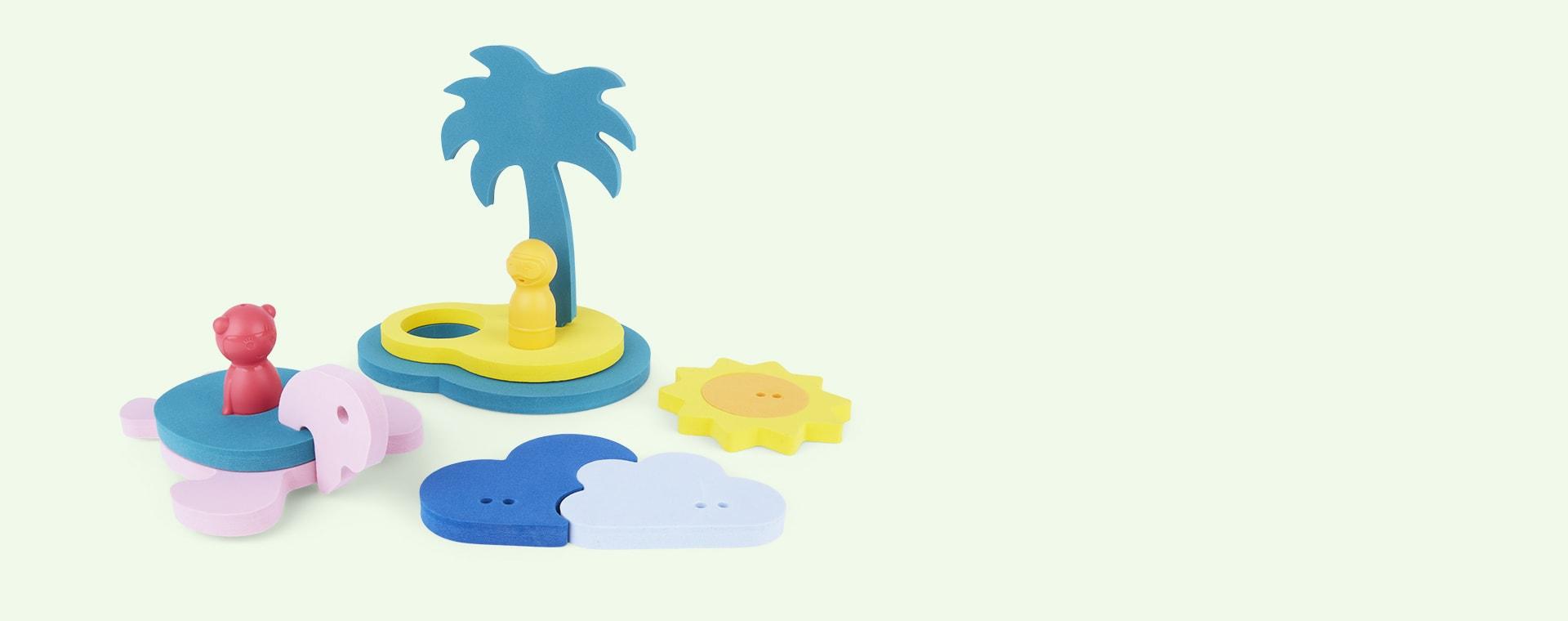 Treasure Island Bath Toy Quut Bath Puzzle