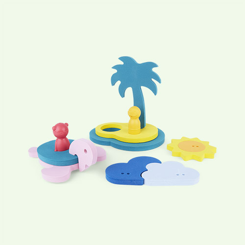 Treasure Island Bath Toy Quut Bath Puzzle