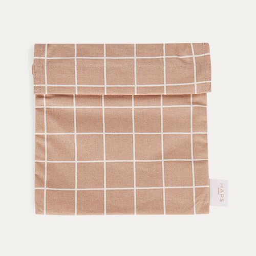 Rose Check Haps Nordic Sandwich Bag