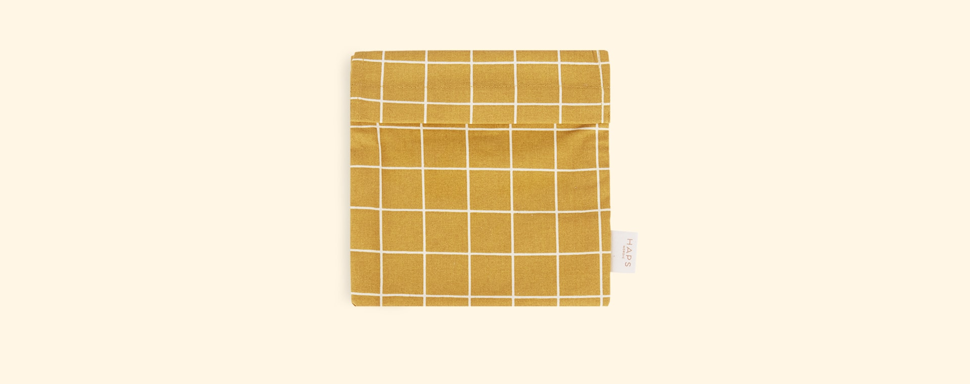Mustard Check Haps Nordic Sandwich Bag