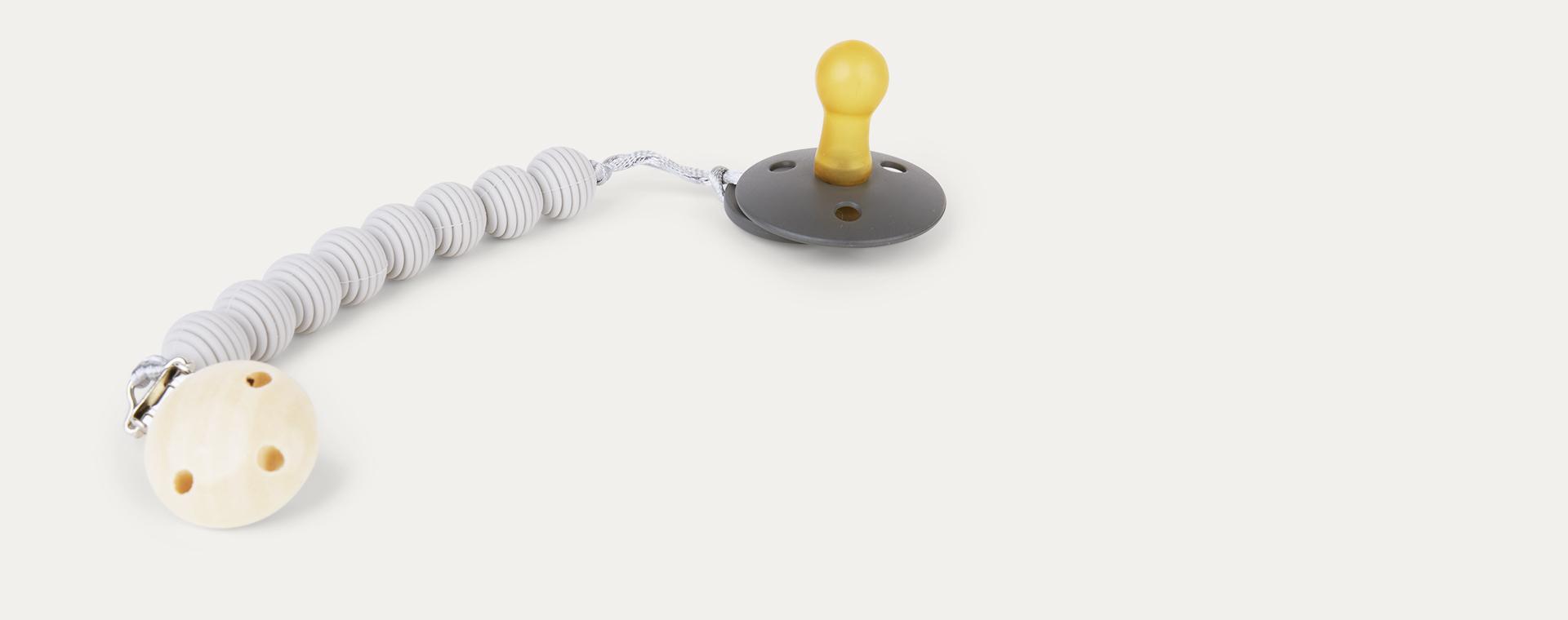 Light Grey Nibbling Spiral Dummy Clip