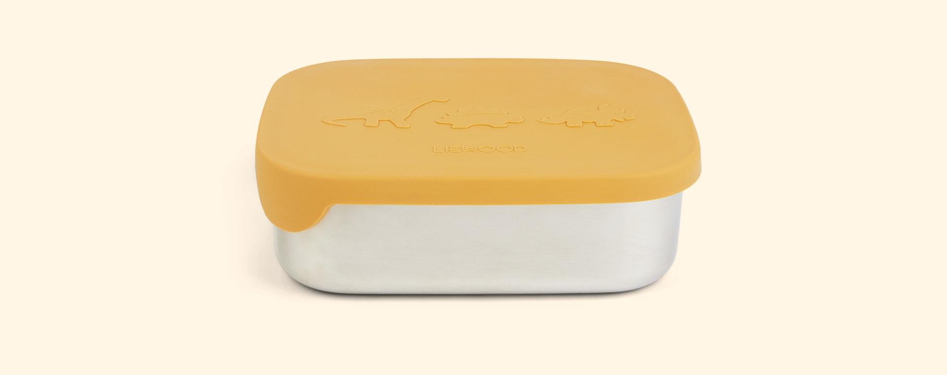 Dino Yellow Mellow Liewood Arthur Lunchbox