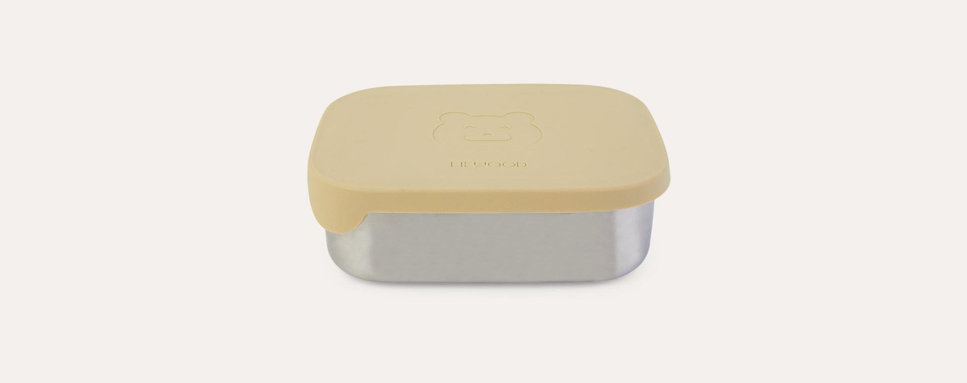 Mr Bear Wheat Yellow Liewood Arthur Lunchbox
