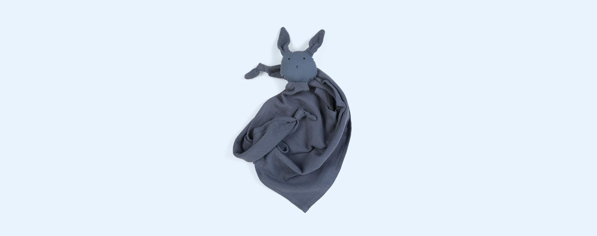 Rabbit Blue Wave Liewood Robbie Multi Muslin Cloth