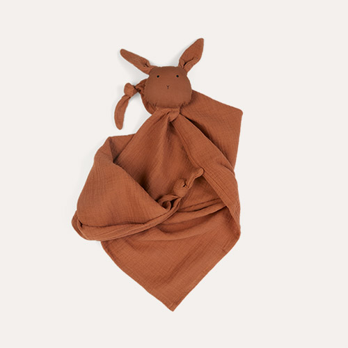 Rabbit Terracotta Liewood Robbie Multi Muslin Cloth