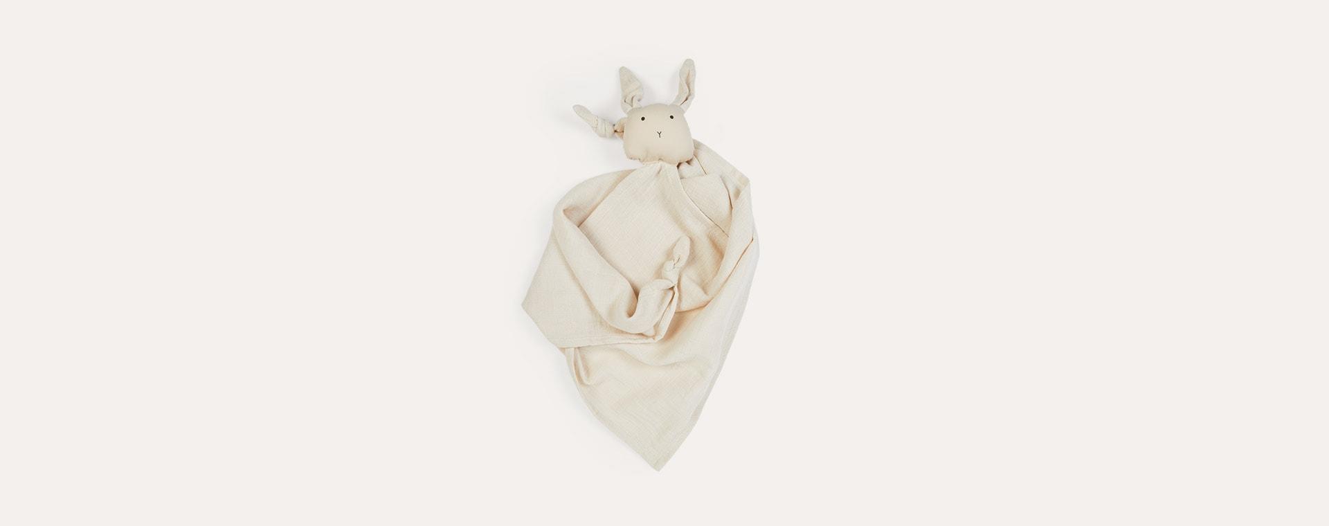 Rabbit Sandy Liewood Robbie Multi Muslin Cloth