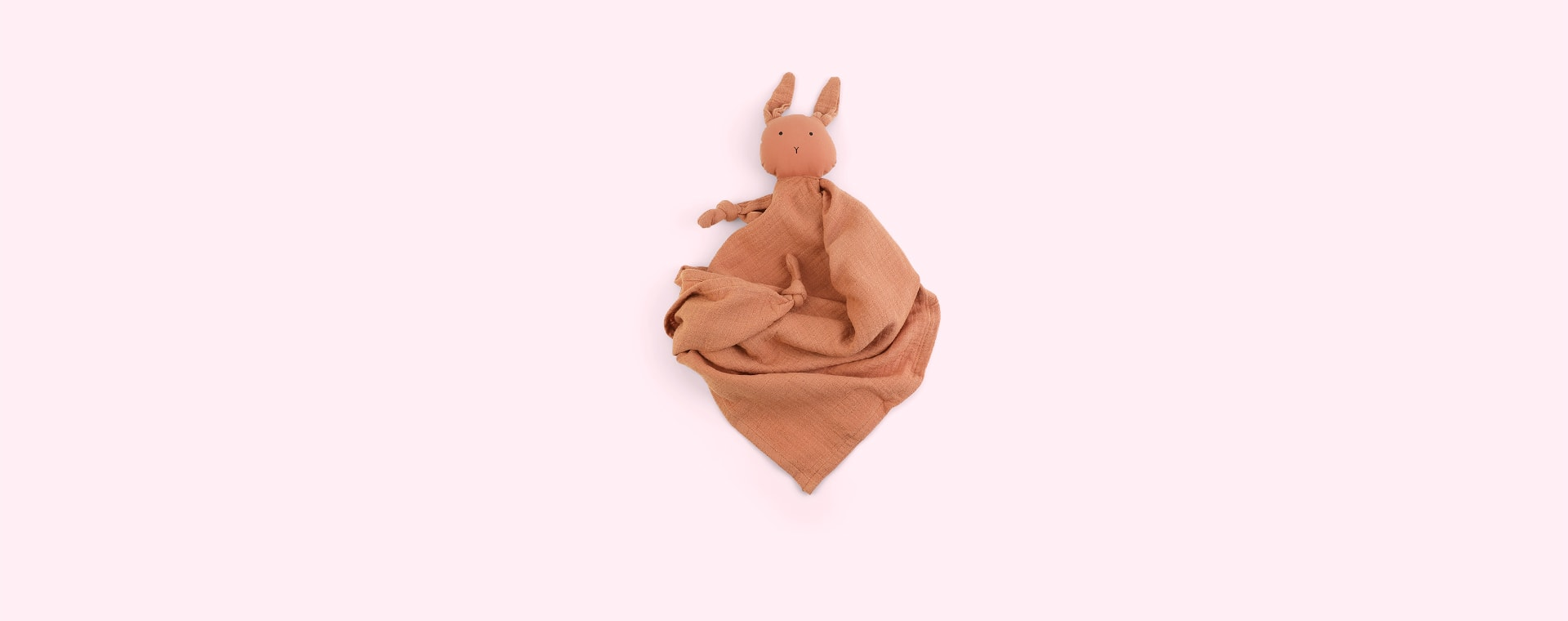 Rabbit Tuscany Rose Liewood Robbie Multi Muslin Cloth