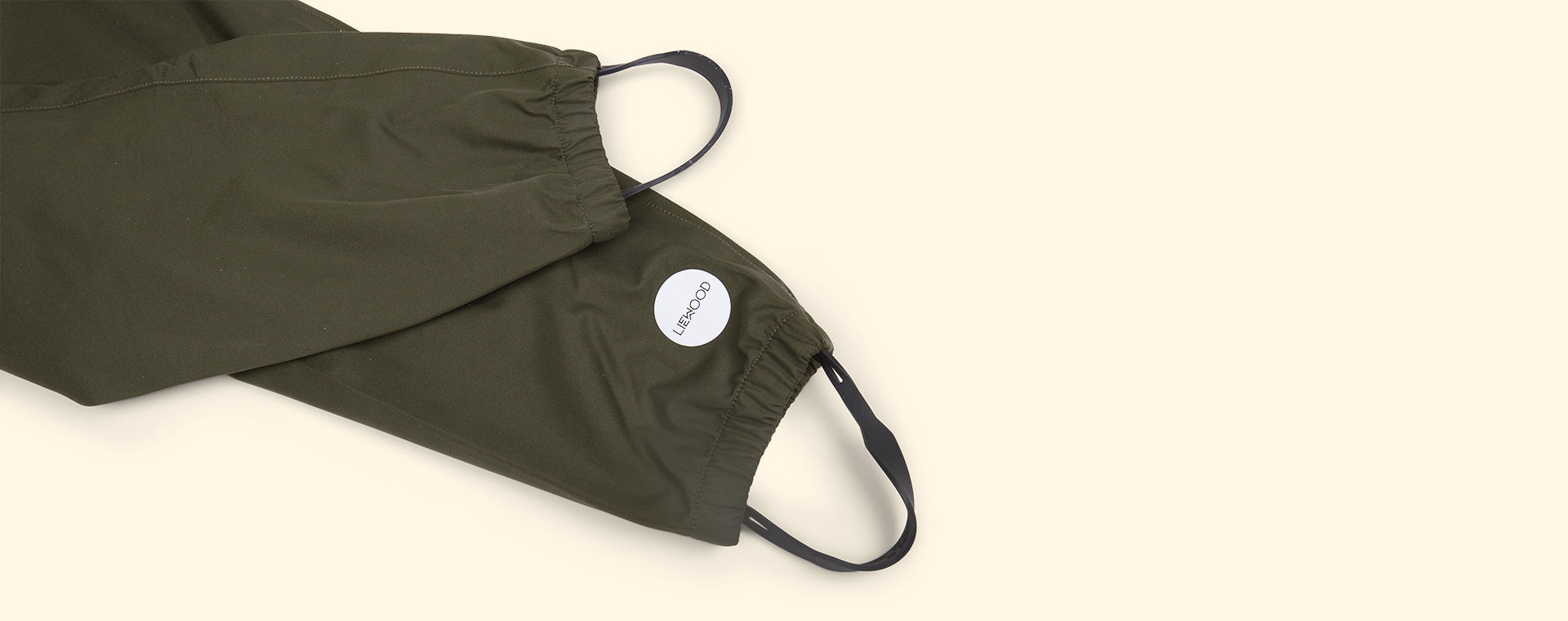 Hunter Green Multi Mix Liewood Parker Rainwear
