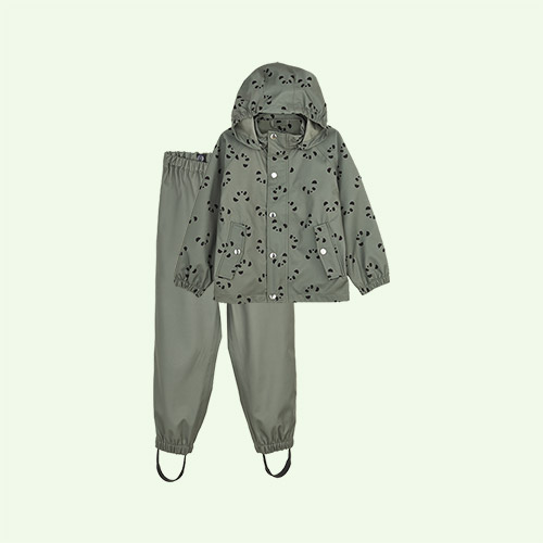 Panda Faune Green Liewood Parker Rainwear