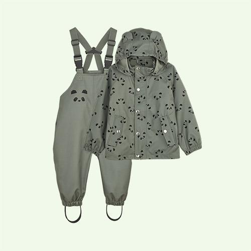Panda Faune Green Liewood Dakota Rainwear