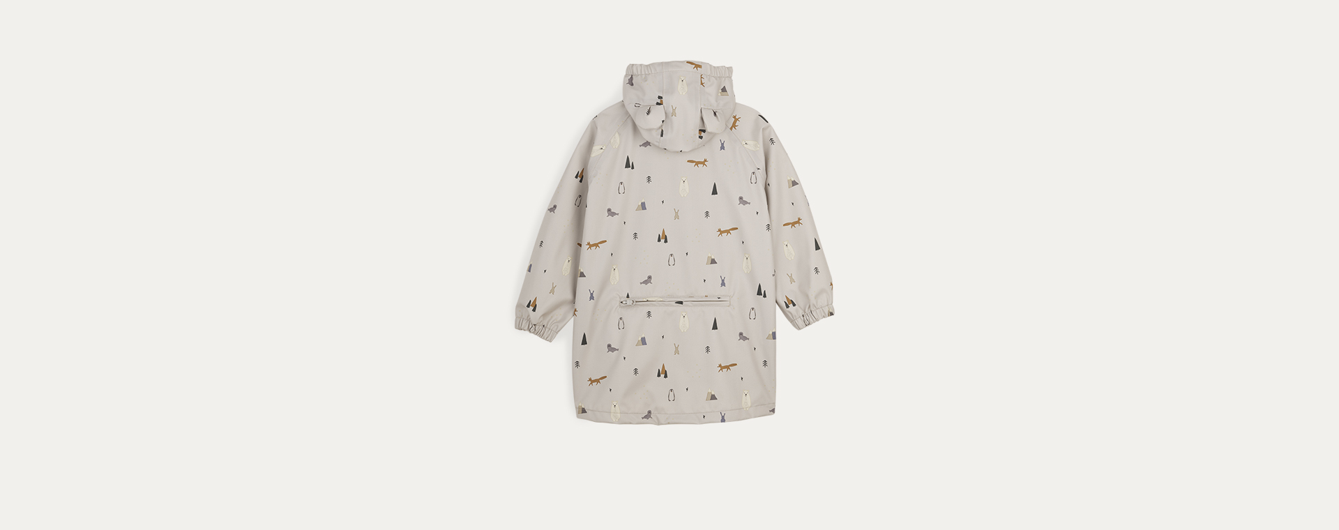 Arctic Mix Liewood Blake Long Raincoat