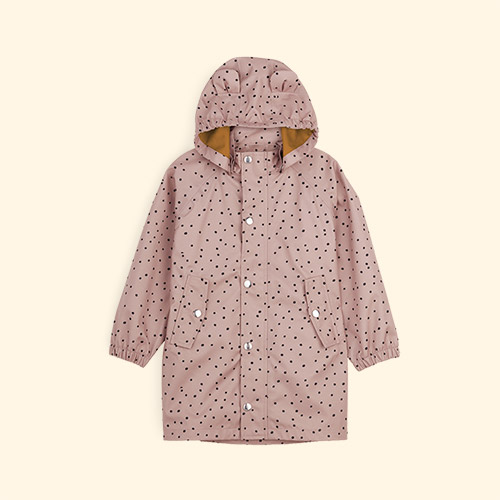 Confetti Rose Liewood Blake Long Raincoat