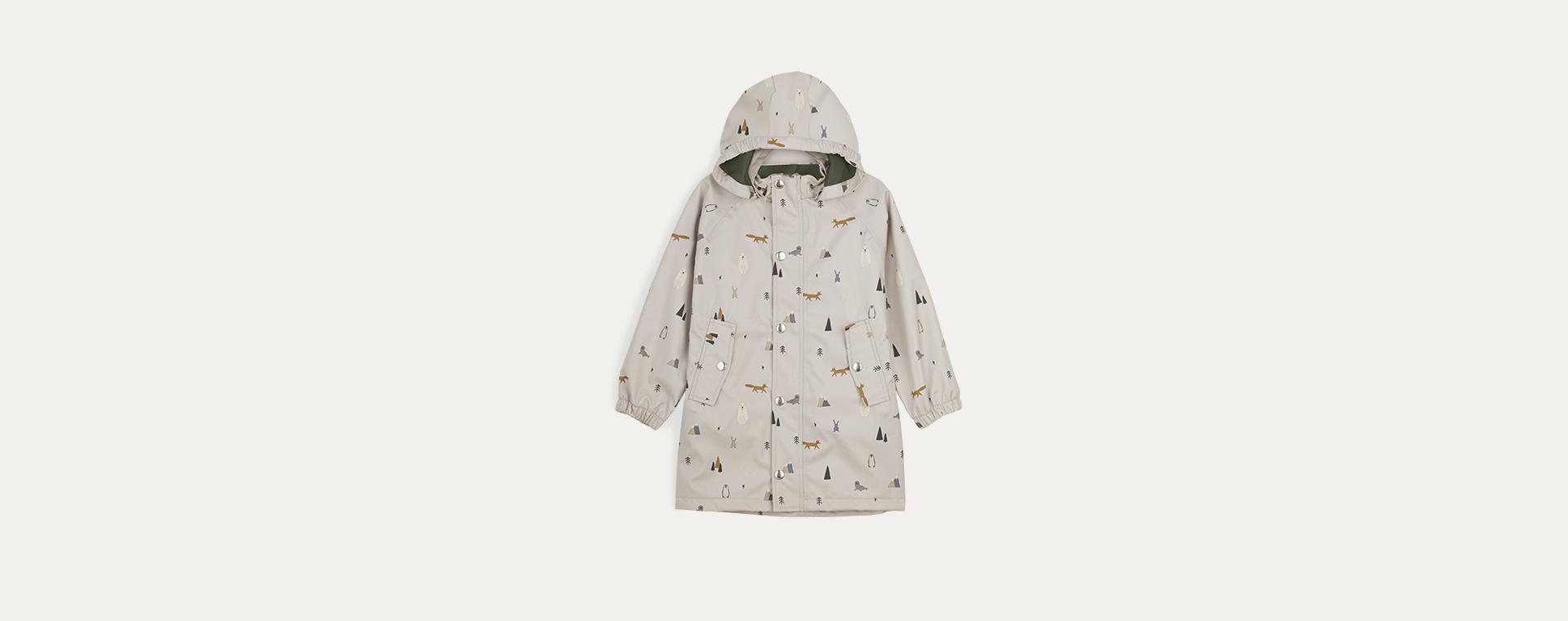 Arctic Mix Liewood Spencer Long Raincoat