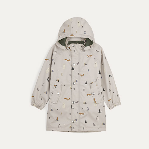 Arctic Mix Liewood Spencer Long Raincoat