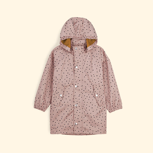 Confetti Rose Liewood Spencer Long Raincoat