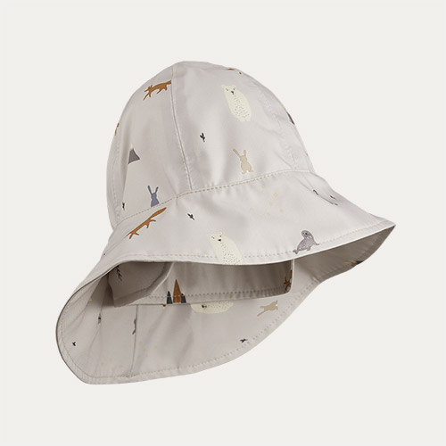 Arctic Mix Liewood Remi Southwest Hat