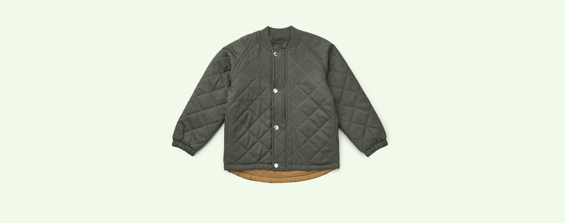 Hunter Green Liewood Daphne Thermo Jacket (0-3 yrs)